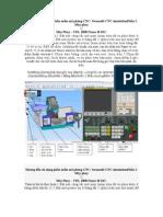 Hướng dẫn sử dụng phần mềm mô phỏng CNC