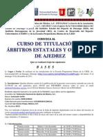 Curso Durango-Convocatoria 13-18 Dic 2011