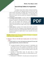 Persuasive Speech Body Outline Final