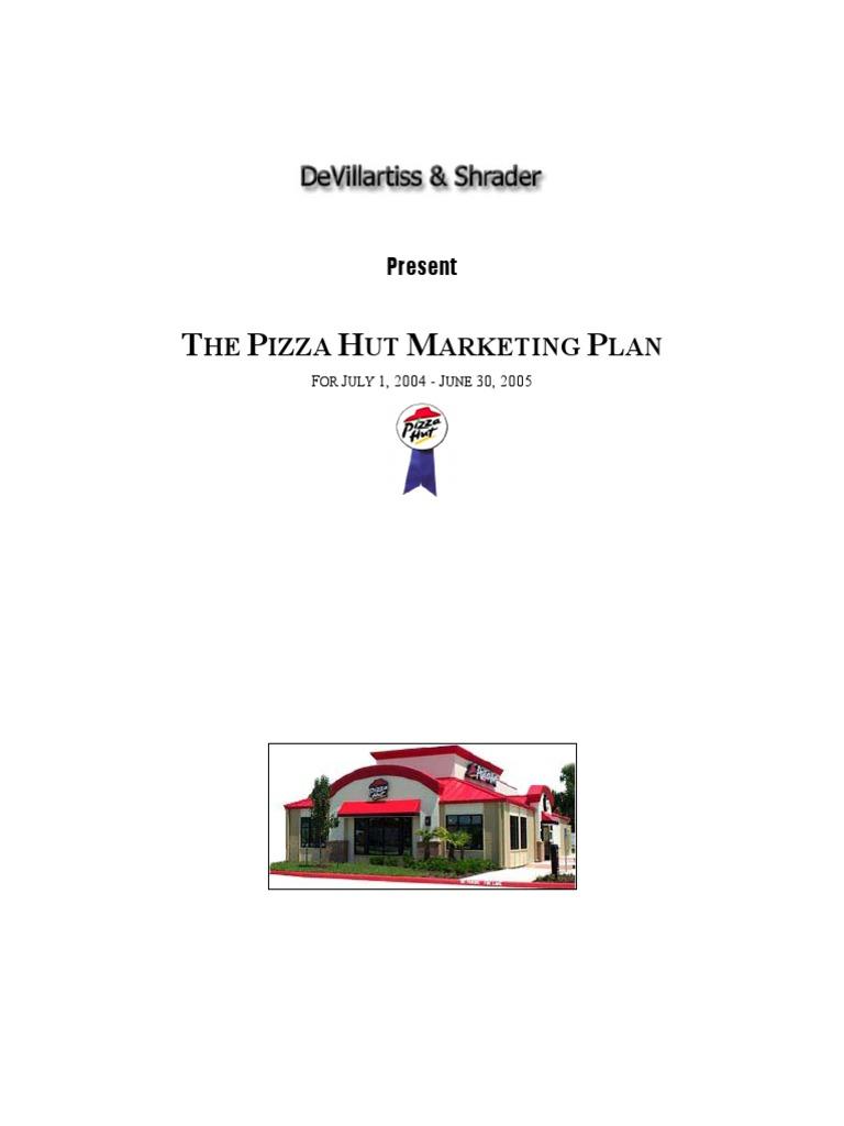 PizzaHut Marketing Plan | Domino\'s Pizza | Fast Food Restaurants