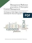 ECM Platforms Whitepaper & E-book