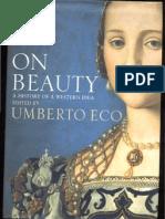 On Beauty a History of a Western Idea