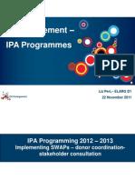 Elizabeth Peri - EU Enlargement; IPA Programmes