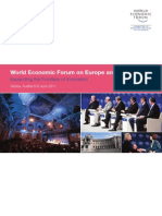 Article Critique 1- WEF EU11 Report