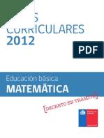 Base Curricular 2012 Matemática 13-11-11