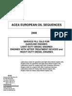 ACEA Oil Sequences Final