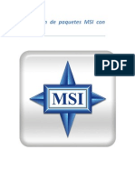 Generación de paquetes MSI con Snapshot