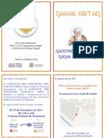 Invitació a la Cel·lebració del Naixement del Guru Nanak Dev Sahib Ji de la Comunitat Sikh