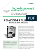 las relaciones publicas