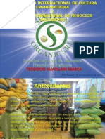 Emprendimientos Rurales Cadena Productiva de Quinua SINDAN ORGANIC