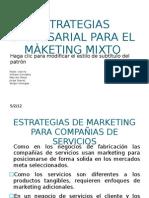ESTRATEGIAS EMPRESARIAL PARA EL MÀKETING MIXTO