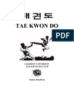 Martial Arts - Tae Kwon Do Handbook
