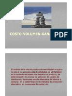 Analisis Costo Volumen Ganancia