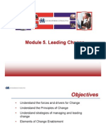 Module 5 Change Leadership