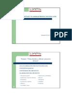 Bases Para Disenar Elaborar Proyectos Eficaces Donosti