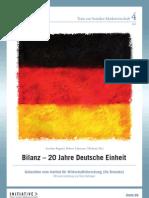 Bilanz - 20 Jahre deutsche Einheit - Gutachten vom Institut für Wirtschaftsforschung (ifo Dresden)