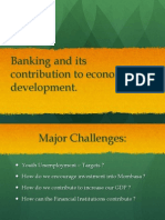 Banking and Development