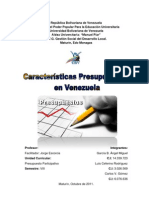 CLASIFICACIÓN DEL PRESUPUESTO EN VENEZUELA