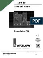 Watlow Control d Temp SD