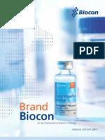 Biocon AR2011