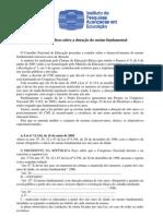 ASPECTOS JURIDICOS SOBRE A DURAÇAO DO ENSINO FUNDAMENTAL