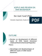 DNA BIOSENSOR Review and Principle
