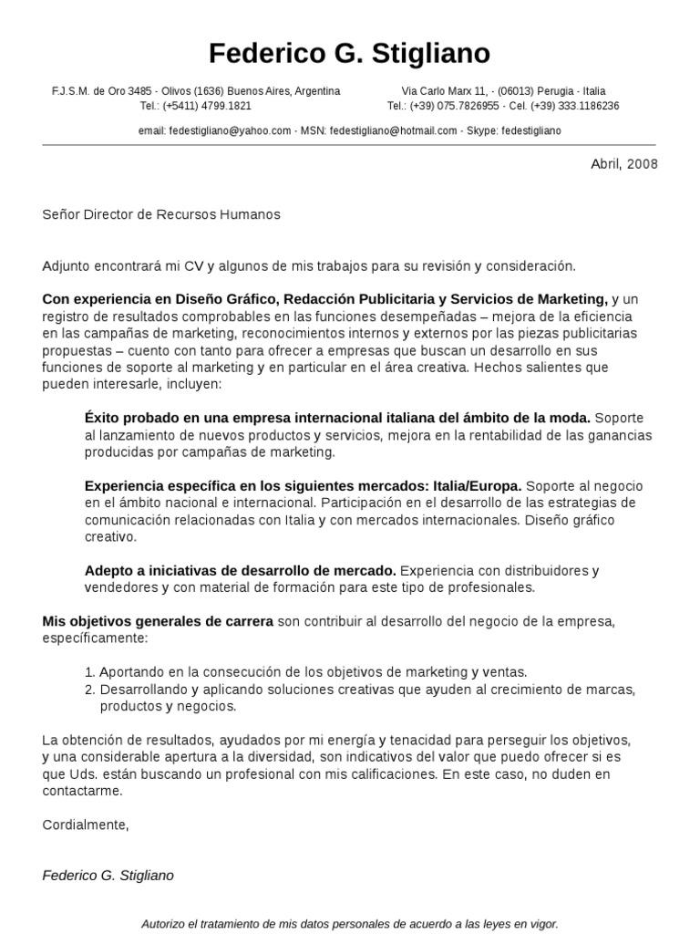 CV F Stigliano
