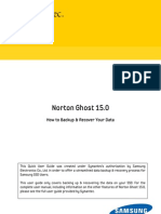 Norton Ghost Backup and Recovery User Manual (English)