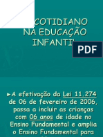 o Cotidiano Da Educao Infantil2050