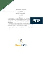 Guía de integrales desarrollada