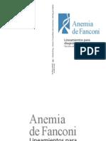 Guideline Para Anemia Fanconi