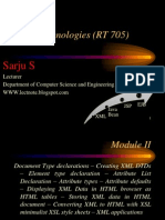 Wt Module II XML