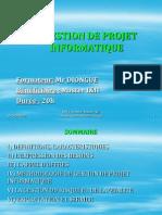 GESTION DE PROJET 2010