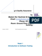 Chap 1- Introduction to Software Testing