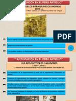 DIAPOSITIVAS DOCTORADO HISTORIA DE LA EDUCACIÓN