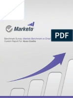 Marketo Benchmark on Email Marketing