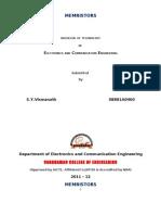 Memristor Documentation