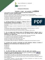 everaldo avaliação INFO