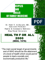 Principles and Skills of Family Medicine