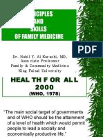 Principles and Skills of Family Medicine