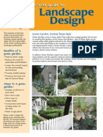 Texas Earth Wise Guide to Landscape Design