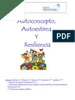 Autoconcepto Autoestima y Resiliencia 2 de Julio