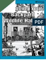Tennessee; Improving Your Backyard Wildlife Habitat