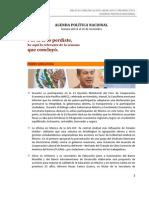 AGENDA POLÍTICA NACIONAL