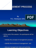 Management Process Ppt