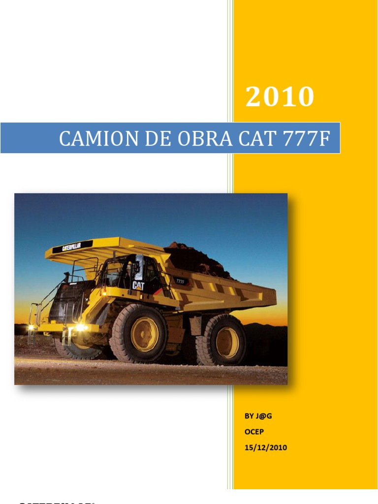 CAMION 777F