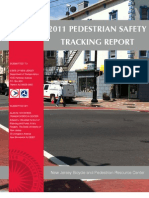 2011 New Jersey Pedestrian Safety Tracking Report Final