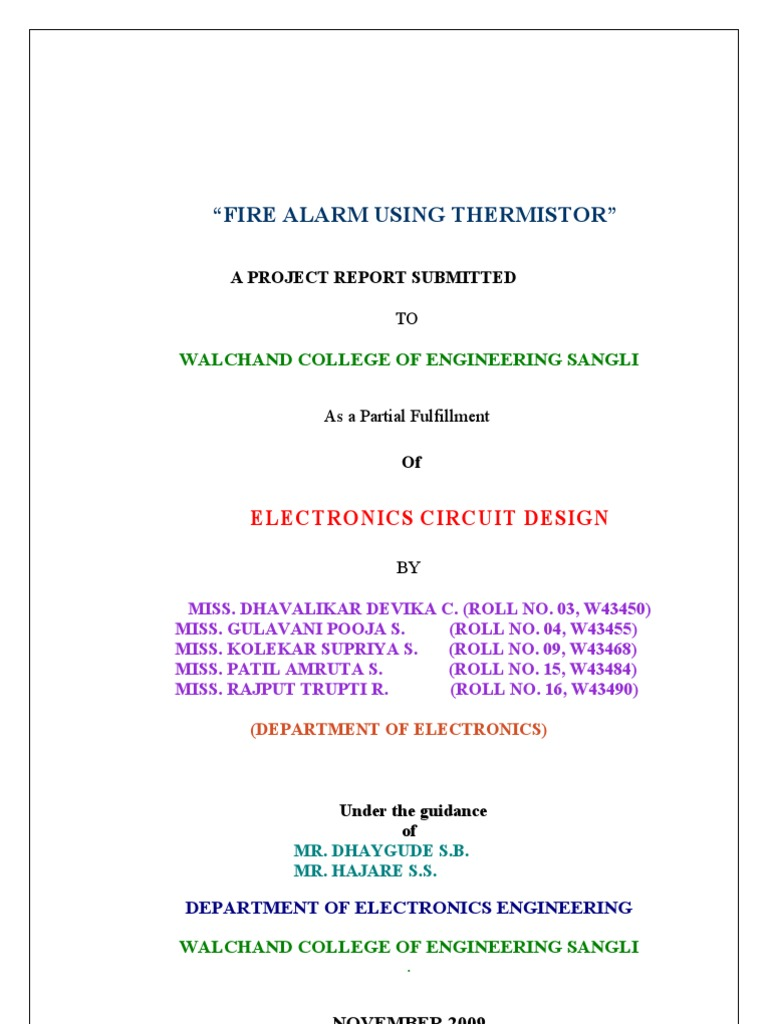 Fire Alarm 09 Capacitor Resistor Bc548 Heat Sensor Circuit