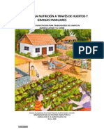 Mejorando la nutricion a través de huertos y granjas