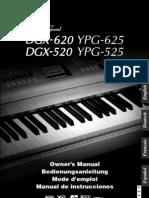 Manual Dgx620 Es